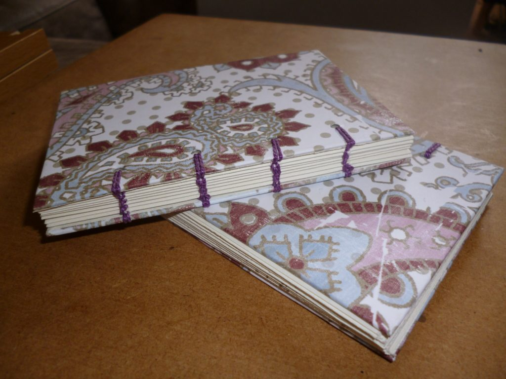 Small Coptic bound book
