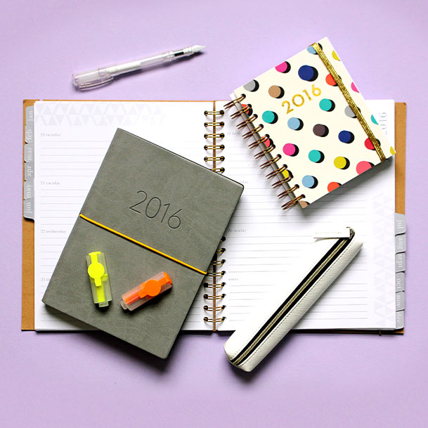 paperchase stationery and 2016 diaries