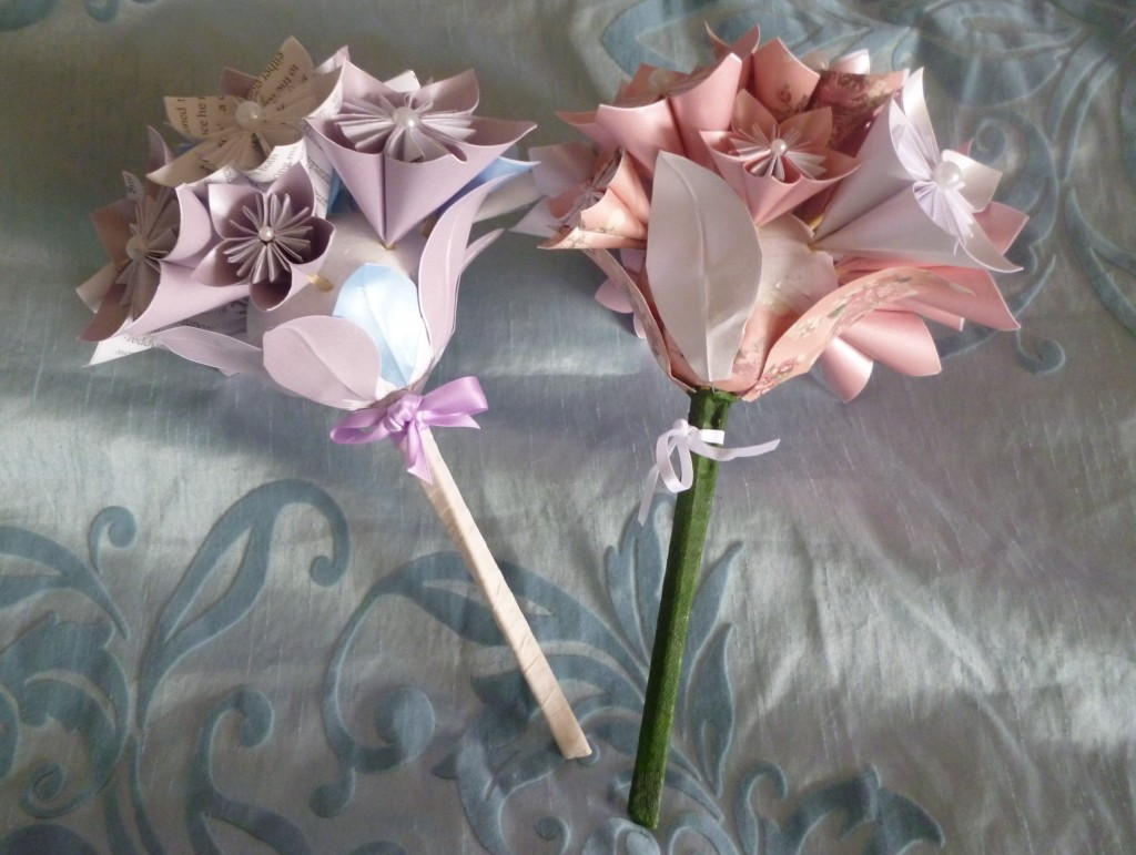 Origami bouquets - £35