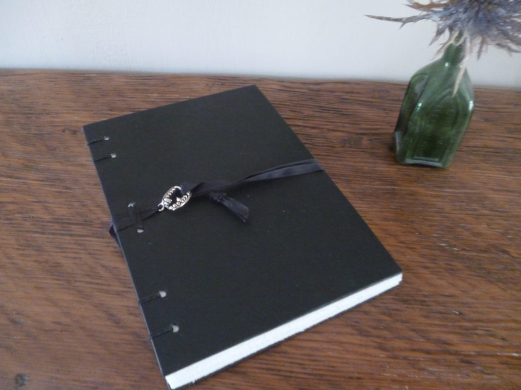 Black vamp notebook