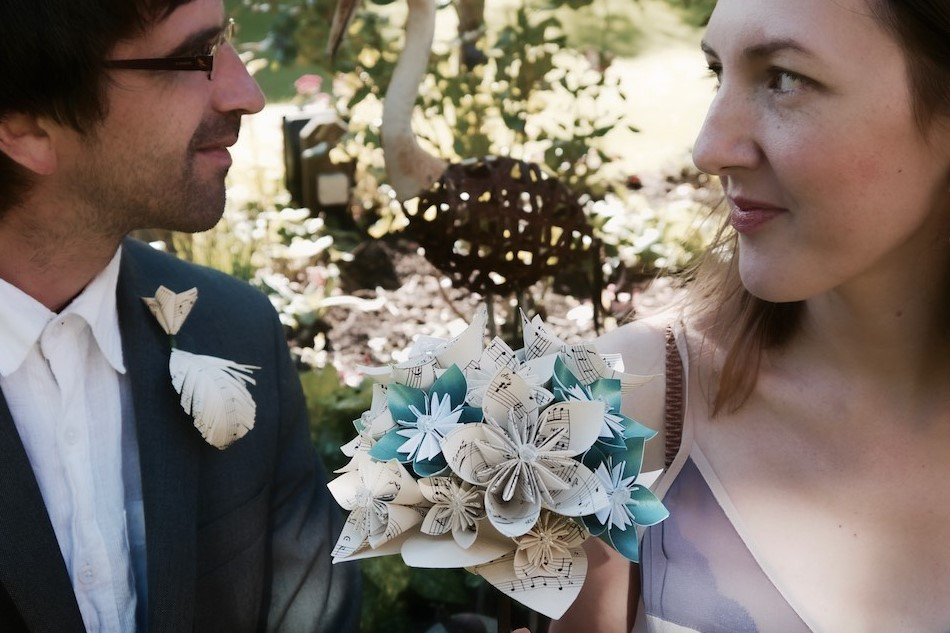 Large origami bouquet