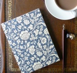 Blue floral coptic main