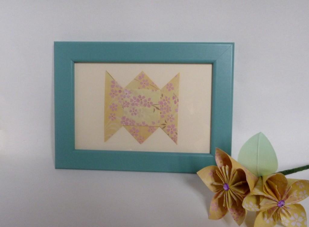 Handmade origami gift